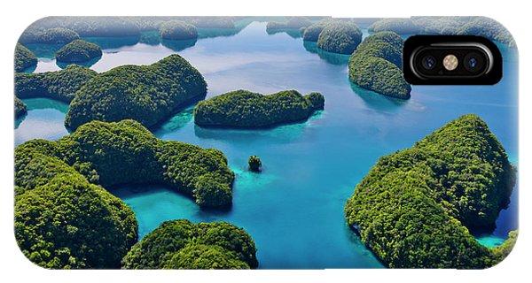 Micronesia iPhone Case - Rock Islands, Palau by Keren Su