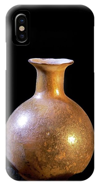 Perfume Bottles iPhone Case - Roman Perfume Bottle by Patrick Landmann/science Photo Library