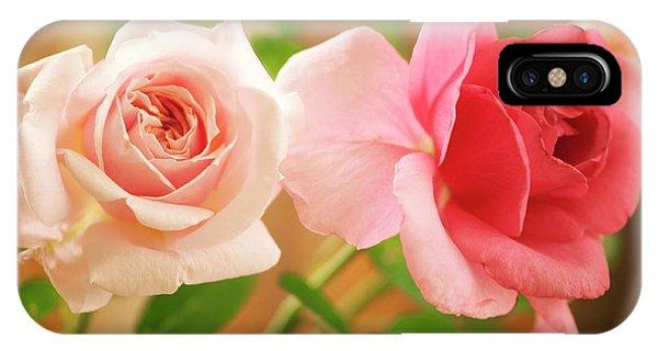 Hybrid iPhone Case - Rose (rosa Hybrid) by Maria Mosolova