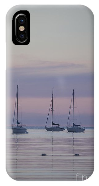 3 Sailboats IPhone Case