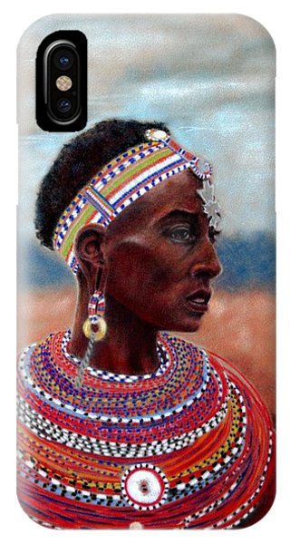 Samburu Woman IPhone Case