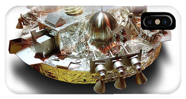 Spaceflight iPhone Case - Schiaparelli Exomars Edm Lander by Detlev Van Ravenswaay