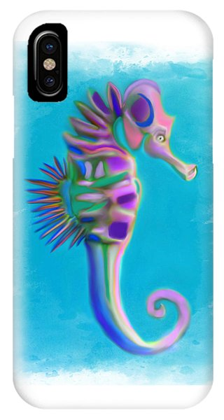 The Pretty Seahorse IPhone Case