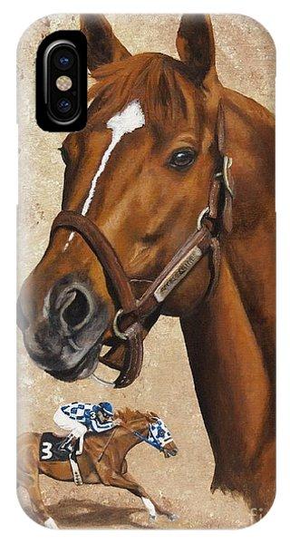 Secretariat Phone Case by Pat DeLong