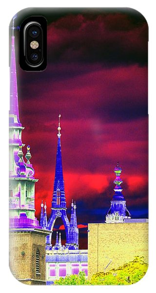 3 Spires  IPhone Case