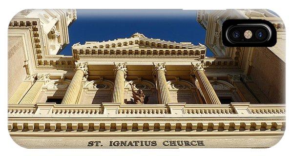 St. Ignatius Catholic Church IPhone Case