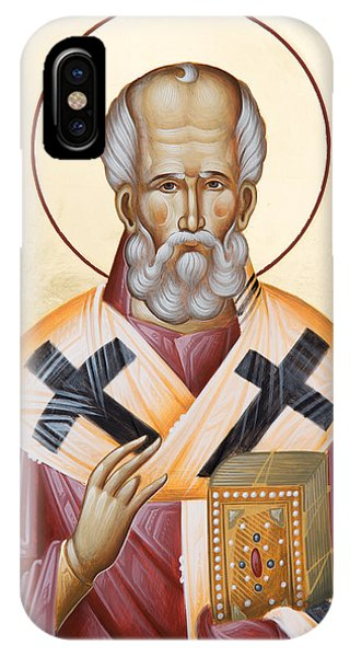 St Nicholas Of Myra IPhone Case
