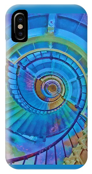 Stairway To Lighthouse Heaven IPhone Case