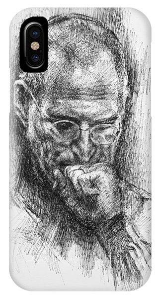 Inventor iPhone Case - Steve Jobs by Ylli Haruni