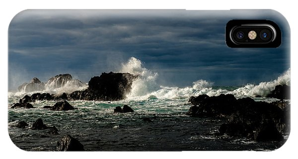 Stormy Seas And Skies  IPhone Case