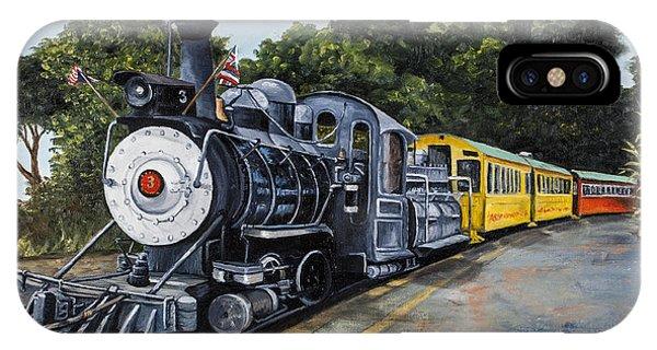 Passenger Train iPhone Case - Sugar Cane Train by Darice Machel McGuire