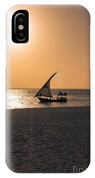 Sunset In Zanzibar Phone Case by Pier Giorgio Mariani