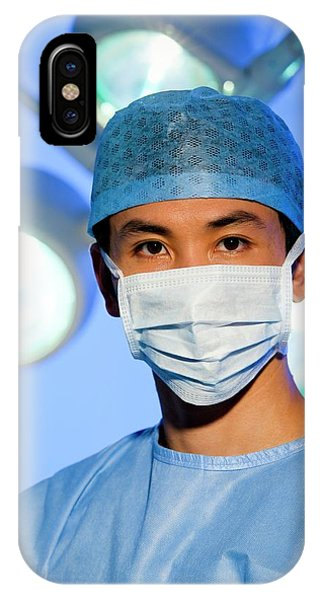 Staff iPhone Case - Surgeon by Science Photo Library
