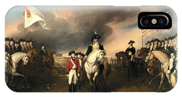 Surrender Of Lord Cornwallis IPhone Case