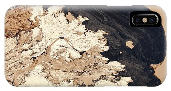 Tailings Pond At The Syncrude Mine IPhone Case