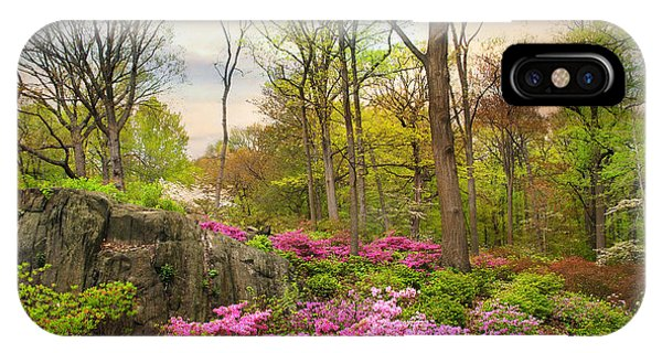 The Azalea Garden IPhone Case