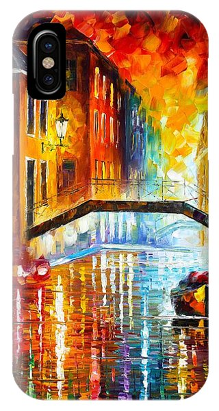 The Canals Of Venice IPhone Case
