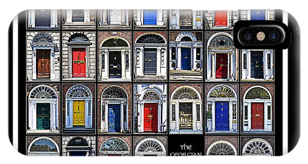 The Georgian Doors Of Dublin IPhone Case