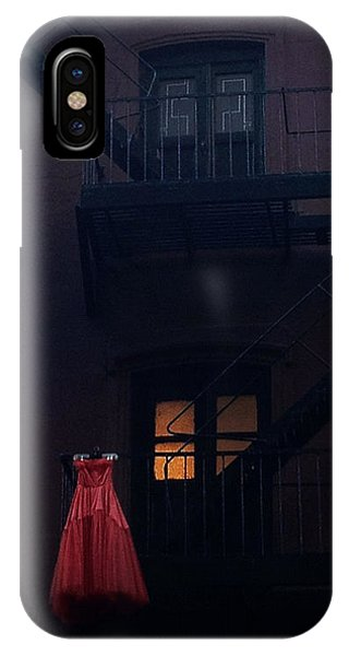 The Red Gown IPhone Case