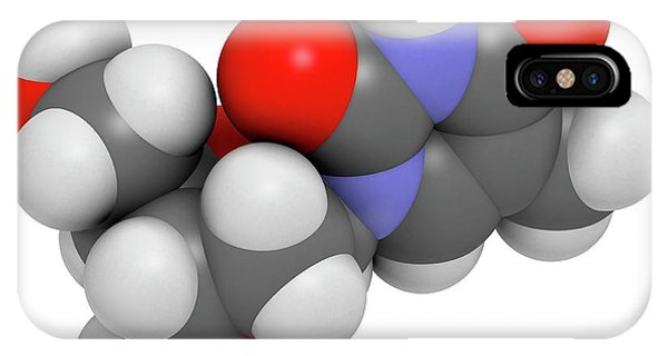 Thymidine Nucleoside Molecule Phone Case by Molekuul