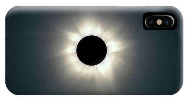 iPhone Case - Total Solar Eclipse by Martin Rietze