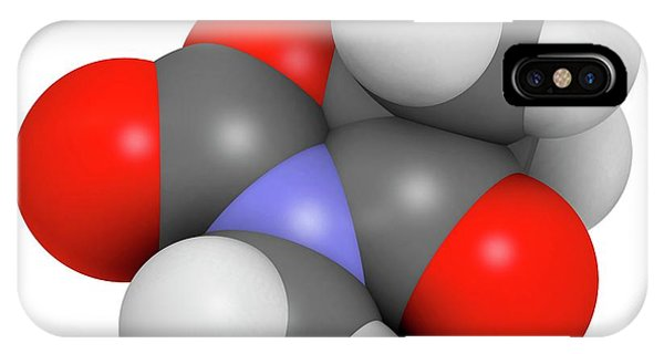 Trimethadione Anticonvulsant Drug Phone Case by Molekuul