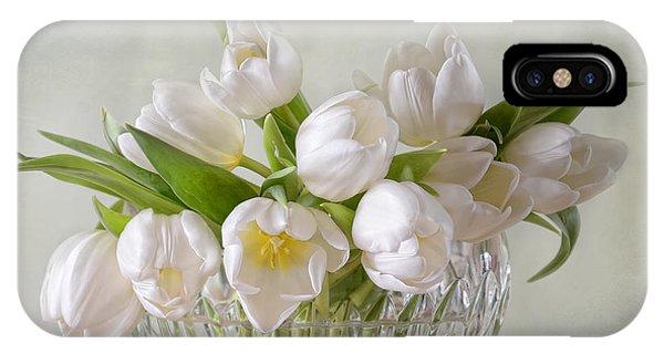 Wiese iPhone Case - Tulips by Steffen Gierok