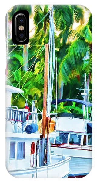 Two Boats IPhone Case
