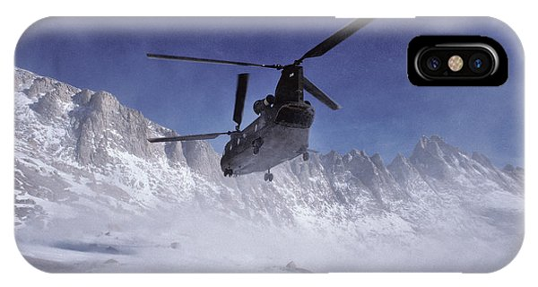 Usa, California, Chinook Search Phone Case by Gerry Reynolds