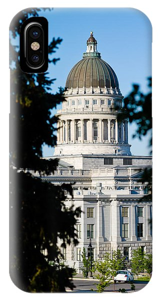 Capitol Building iPhone Case - Utah State Capitol Building, Salt Lake by Panoramic Images
