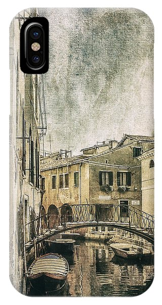 Venice Back In Time IPhone Case
