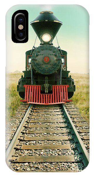 Vintage Train Engine IPhone Case