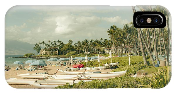 Wailea Beach Maui Hawaii IPhone Case