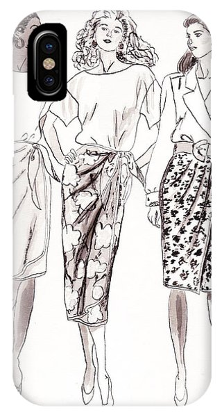 iPhone Case - 3 Woman by Michael Rados