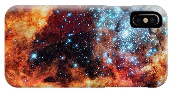 30 Doradus Star Clusters Phone Case by Nasa/esa/stsci/e. Sabbi/science Photo Library
