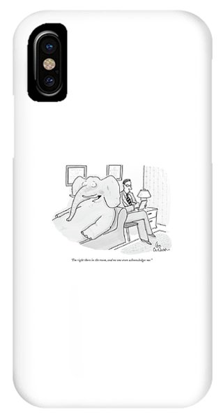 I'm Right There In The Room IPhone Case