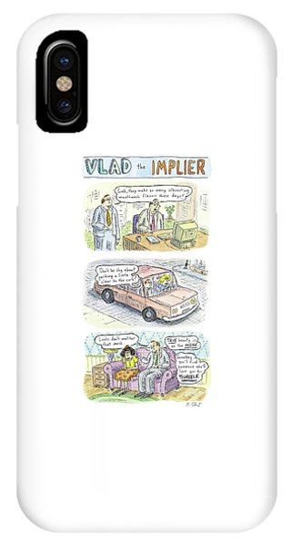 New Yorker May 19th, 2008 IPhone Case