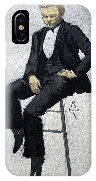 Gatsby Study 3 IPhone Case