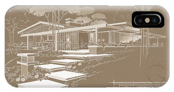 301 Cypress Drive - Sepia IPhone Case