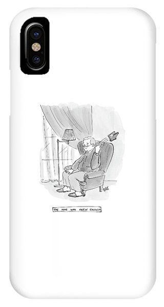 The Man Who Knew Enough IPhone Case