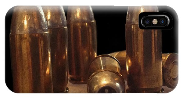 Bullet Art 32 Caliber Bullets 3514 IPhone Case