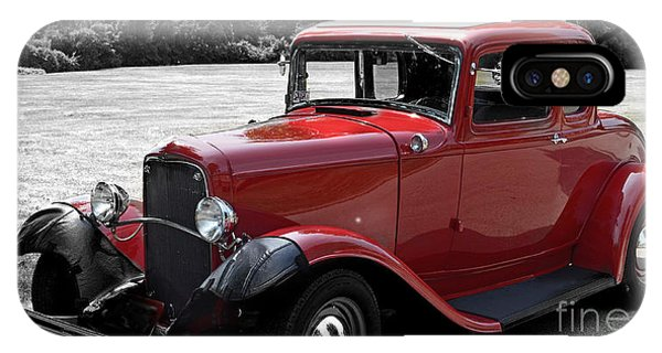 32 Ford Coupe Charmer IPhone Case