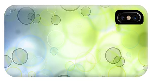 Abstract Circles 44 IPhone Case