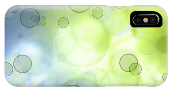Abstract iPhone Case - Circles Of Hope by Les Cunliffe