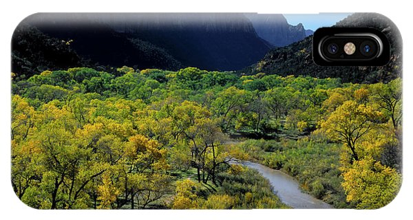 Scarlet iPhone Case - Zion National Park, Utah by Scott T. Smith