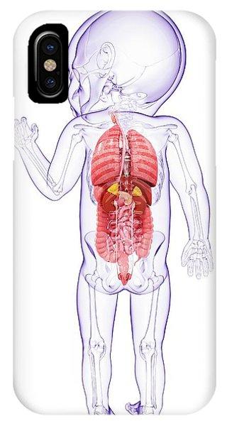 Baby's Anatomy Phone Case by Pixologicstudio