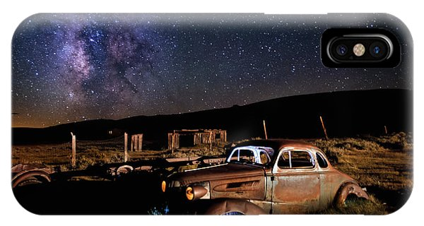 '37 Chevy And Milky Way IPhone Case