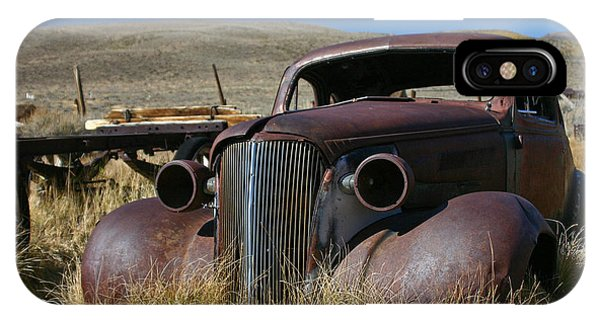 '37 Chevy In Bodie IPhone Case