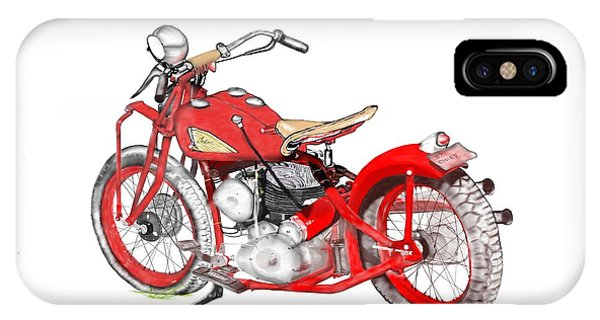37 Chief Bobber IPhone Case