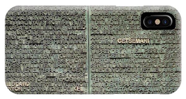 Barcelona Spain - La Sagrada Familia IPhone Case